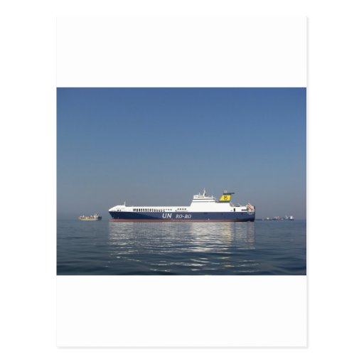RoRo Ferry Post Card