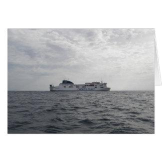 RoRo Passenger Ferry Cartour Gamma Card