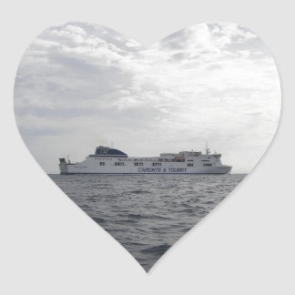 RoRo Passenger Ferry Cartour Gamma Heart Sticker