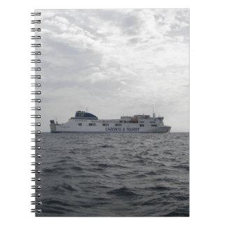 RoRo Passenger Ferry Cartour Gamma Notebooks