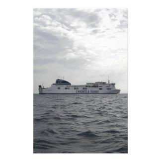RoRo Passenger Ferry Cartour Gamma Customized Stationery