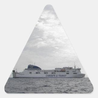 RoRo Passenger Ferry Cartour Gamma Triangle Stickers