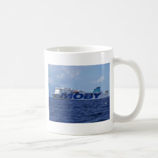 RoRo Passenger Ferry Maria Grazia On Basic White Mug