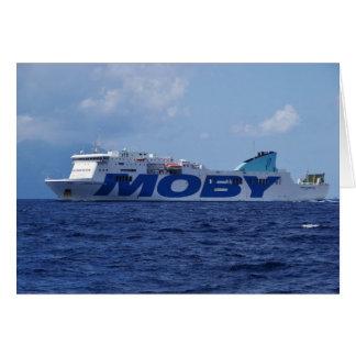 RoRo Passenger Ferry Maria Grazia On Greeting Card