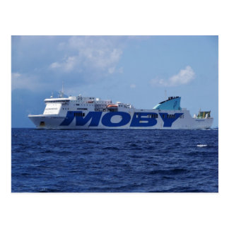 RoRo Passenger Ferry Maria Grazia On Postcard