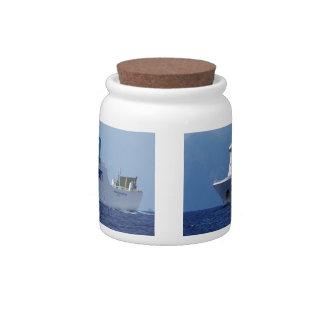 RoRo Passenger Ferry Maria Grazia On Candy Jar