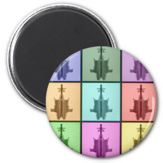 Rors Coll Six Untitled 6 Cm Round Magnet