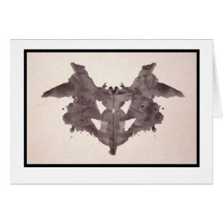 Rorschach Inkblot 1.0 Card