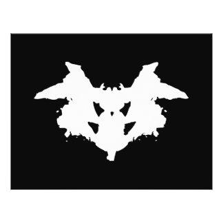 Rorschach Inkblot 21.5 Cm X 28 Cm Flyer