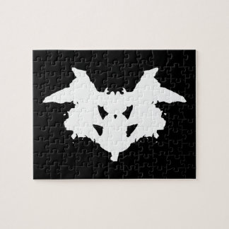 Rorschach Inkblot Jigsaw Puzzle
