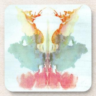 Rorschach Inkblot Test Psychiatry Coaster