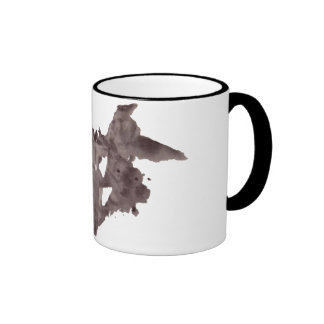 Rorschach  InkBlots Test Plate 1 Ringer Mug