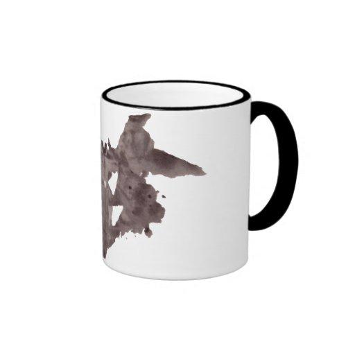 Rorschach  InkBlots Test Plate 1 Mugs