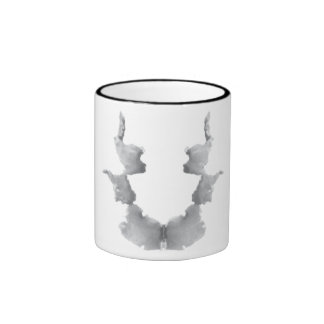 Rorschach  InkBlots Test Plate 7 Ringer Mug