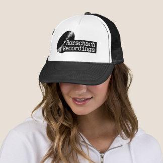 Rorshach Recordings Base Label Black Trucker Hat