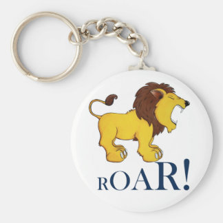 Rory the Lion! Basic Round Button Key Ring
