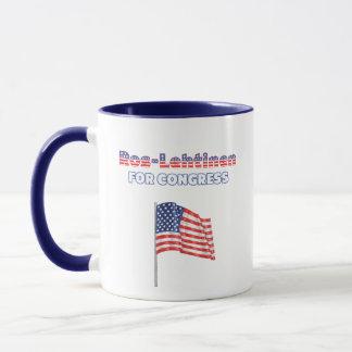 Ros-Lehtinen for Congress Patriotic American Flag Mug