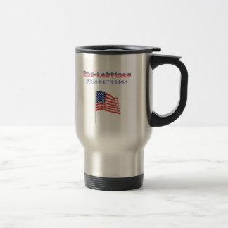 Ros-Lehtinen for Congress Patriotic American Flag Travel Mug