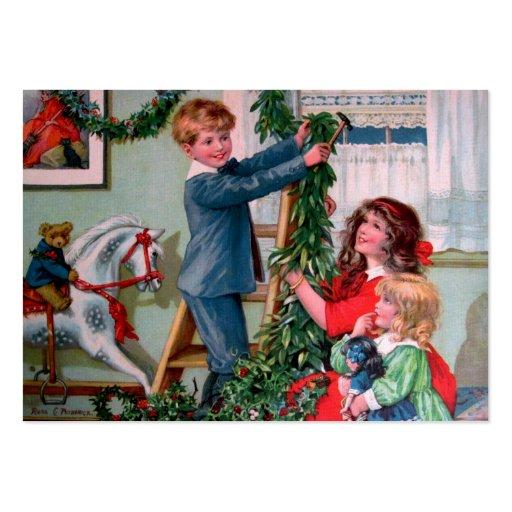 Rosa C. Petherick: Christmas Decorations Business Card Templates