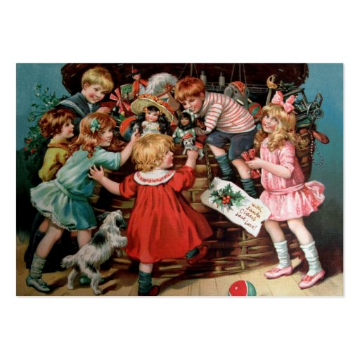 Rosa C. Petherick: The Christmas Basket Business Card Templates