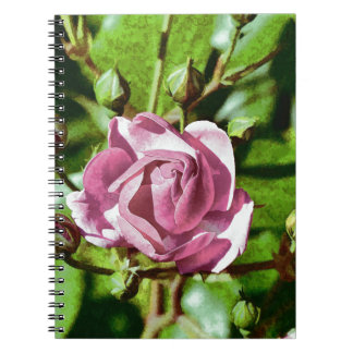 Rosa Rose, Nature Spiral Notebooks