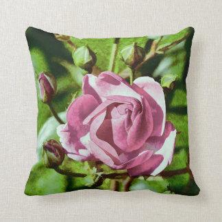 Rosa Rose, Nature Throw Cushions