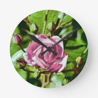 Rosa Rose, Nature Wallclock