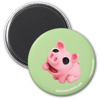 Rosa the Pig are Hungry Magnet