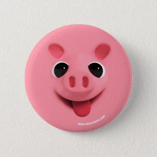 Rosa the Pig FULL 6 Cm Round Badge