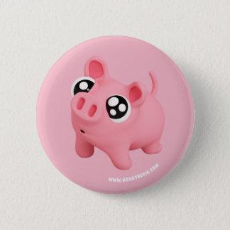 Rosa the Pig puppy Eyes 6 Cm Round Badge