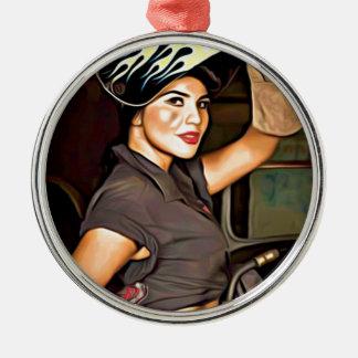 Rosa-the-welder Christmas Ornament
