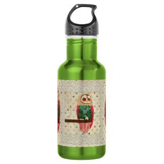 Rosa Vintage  Owl Liberty Bottle 532 Ml Water Bottle