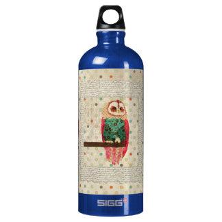 Rosa Vintage  Owl Liberty Bottle SIGG Traveller 1.0L Water Bottle