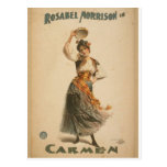 Rosabel Morrison, in 'Carmen' Retro Theatre