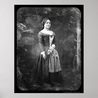 Rosalie Laborde Opera Daguerreotype 1845 Poster