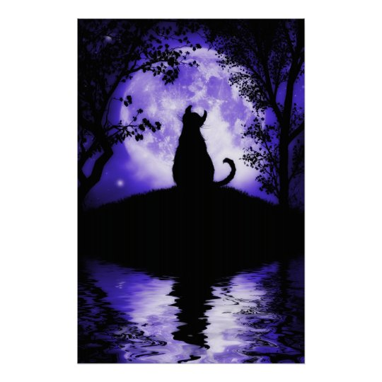Rosalie's Moon Large Poster