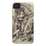 Rosalind and Touchstone, Act III Scene 2, in As Yo iPhone 4 Case