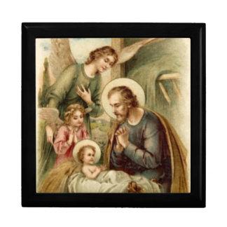 Rosary Box: St. Joseph Nativity Gift Box