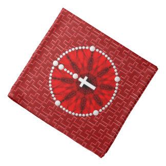 Rosary Dream Catcher Red Head Kerchief