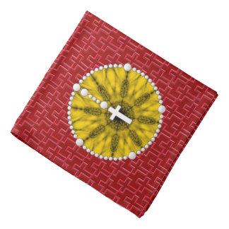 Rosary Dream Catcher Yellow Do-rag