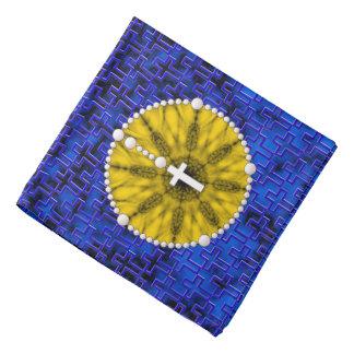 Rosary Dream Catcher Yellow Head Kerchief