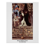 Rosary Madonna Scenes By Guido Reni Posters