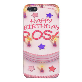 Rosa's Birthday Cake Cover For iPhone 5/5S
