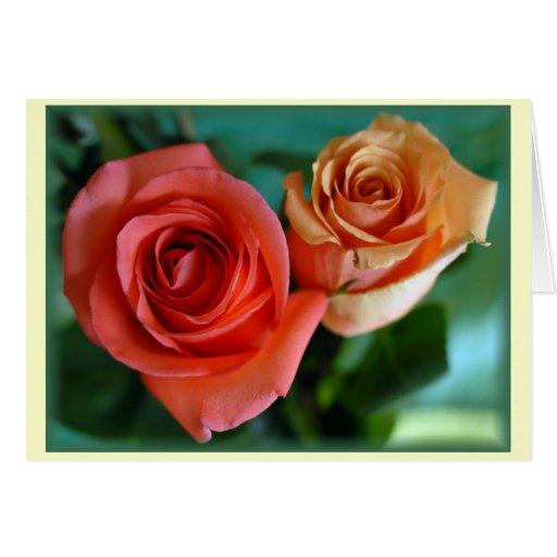 """""""Rosas Rosadas"""" Greeting Cards"""