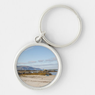 Rosbeg Harbour Silver-Colored Round Key Ring