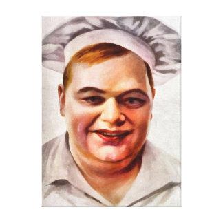 Roscoe Fatty Arbuckle Canvas Prints