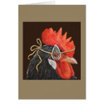 Roscoe the rooster card