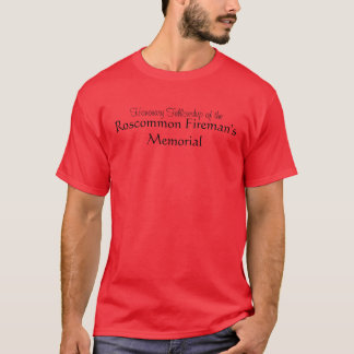 Roscommon Fireman Memorial T-Shirt