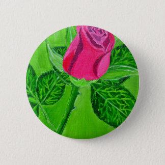 Rose 1a 6 cm round badge