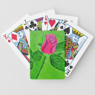 Rose 1a bicycle playing cards
